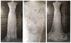 Maggie Sottero 'Francesca' £995 #maggiesottero #francesca #laceweddingdress #sampleweddingdress #designerweddingdressagency #weddinginspo #bridetobe #engaged