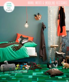H Home's New Kid's Collection, but with a mermaid or pirate