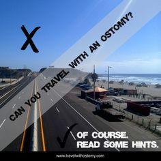 ::travel with ostomy:: - making ostomies badass [and fun] ;)