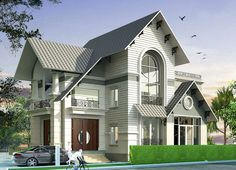 Indian House Plans, Modern Bungalow House, Indian Homes, House Design, Construction, Mansions, Architecture, House Styles, Villa