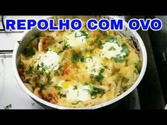 REPOLHO COM OVO 🍳 🍳 Simples e Gostoso - YouTube Comida Diy, Cheeseburger Chowder, Carne, Mashed Potatoes, Soup, Brazilian Recipes, Ethnic Recipes, Portuguese, Youtube