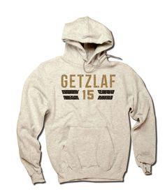 Ryan Getzlaf Officially Licensed NHLPA Anaheim Men's Hoodie S-3XL Getzlaf Font D