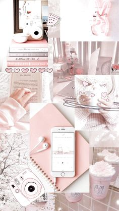 Christmas wallpaper aesthetic collage Ideas for 2019 Wallpaper Pastel, Pink Wallpaper Iphone, Cute Patterns Wallpaper, Iphone Background Wallpaper, Cute Disney Wallpaper, Retro Wallpaper, Galaxy Wallpaper, Girl Wallpaper, Cartoon Wallpaper