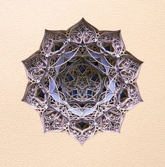 5.1.4 from Either/Or Drawings  cut paper 8 x 10 x 2 in Available Eric Standley Fine Artist
