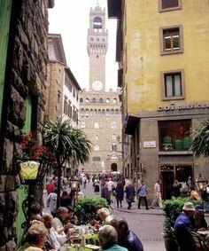 dinner time, Piazza della Signoria, Firenze, Italy