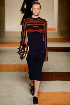 #VictoriaBeckham #FW2016_17 #NWFW #NewYork #Catwalk #readyToWear #trends #stripes