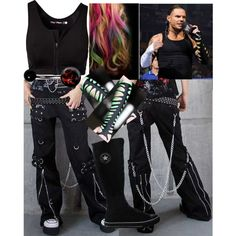 With Jeff Hardy!!!!