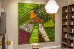 Mosaico de Texturas by Greenarea. En Habitat Proyectos.