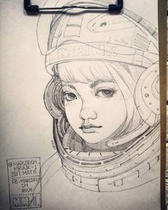 117 個讚,1 則留言 - Instagram 上的 marcorich(@marcorich_mrink_1):「 Pencil  line:space Giri #artist #illustrator #painting #drawing #manga #漫画 #girl #graffiti #note… 」