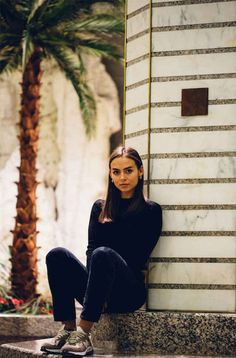 Former 'Complex' Producer Emily Oberg Is Now the Creative Lead for Kith Women Read the full article on Fashionista Best Sneakers, Sneakers Fashion, Emily Oberg, Tomboy Look, Casual Outfits, Casual Clothes, Fashion Photography, Sporty, Style Inspiration