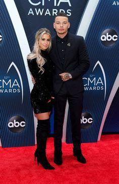 Kane Brown and Katelyn Jae at the CMA Awards 2018 Cute Country Couples, Cute N Country, Cute Couples, Country Boys, Country Prom, Country Singers, Country Artists, Country Music, Kane Brown Songs