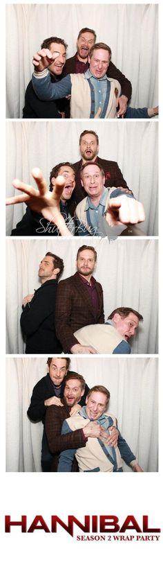 Twitter / MrAaronAbrams: Yah okay fine  ScottThompson_ and BryanFuller are pretty fun I guess. pic.twitter.com/lPboKrf7Ay