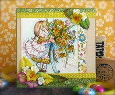Synnøves Papirverksted: Easter flowers