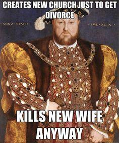 Confessions of an Anne Boleyn Addict: Henry VIII Meme