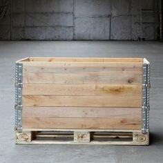 Billede af Fabriksny palleramme 800 x 1200 x 195 mm - Leveres fra Hvidovre   jyskpalleimport.dk