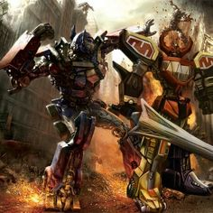Megazord vs optimus