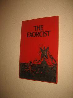 "Cuadro en relieve de ""El Exorcista"" The Exorcist, Cover, Art, Wood Pictures, Drawers, Dibujo, Art Background, Kunst, Performing Arts"