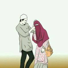 Image uploaded by Muslim Girl. Find images and videos about couple, islam and muslim on We Heart It - the app to get lost in what you love. Love Cartoon Couple, Cute Couple Art, Cute Couple Pictures, Cute Couples, Bts Pictures, Couples Muslim, Muslim Family, Muslim Girls, Muslim Couple Photography
