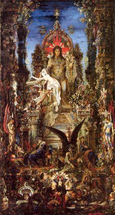 Gustave Moreau - Jupiter & Semele