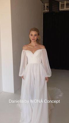 Wedding Dress Bustle, Boho Chic Wedding Dress, Dream Wedding Dresses, Bridal Dresses, Wedding Gowns, Ball Dresses, Ball Gowns, Evening Dresses, Girls Dresses