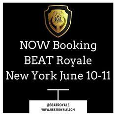 Beat Royale is now Pre Booking for the New York June 10-11  Beat Royale New York June 10-11 http://ift.tt/1VG4Zn0  #BEATRoyaleFEST #NewYork  #BEATRoyale #dynamicproducer #beatbattleking #musicbusiness #musicproducerlife #producerlife #musicnetworking #hiphopproducer producergrind #produceroftheyear #beatbattle #beatbattleking #beatbattles #producershowcase  #DynamicForever #ChannelDynamic @BeatBattleKing