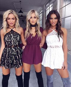All three Playsuits online now $59.95 the 'Sugarplum' playsuit (middle) was restocked last night