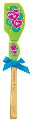 Mommy and Me Kitchen Buddies Silicone Spatula Set