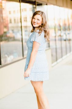 Pastel Blue Dress to Highlight That Spring Beauty! Pastel Blue Dress, Blue Dresses, Inbound Marketing, Brand Strategist, Senior Picture Outfits, Photoshoot Inspiration, Personal Branding, Highlight, Branding Design
