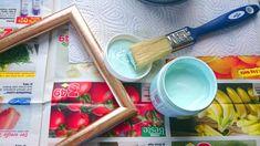 Vintage Look für Bilderrahmen mit Kreidefarbe Frantasiaaa Bastelblog shabby chic (8)