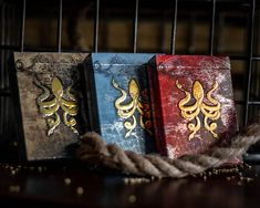 JOLLY ROGER KRAKEN Playing Cards. The impressive giant octopus and its metallic beauty - Max Playing Cards