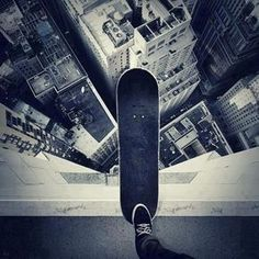 The world is a skate park. Ride it! When all else fails.. Skate on.