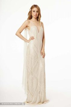 francesca miranda fall 2015 wedding dress with sleeves