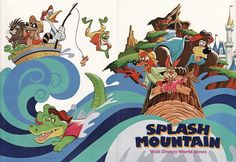 splash mountain - Google Search