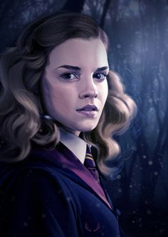 Read Hermione from the story Fan Art Harry Potter by with reads. Fanart Harry Potter, Harry Potter Artwork, Harry Potter Drawings, Harry James Potter, Harry Potter World, Art Hermione Granger, Harry Potter Portraits, Hogwarts, Harry Potter Collection