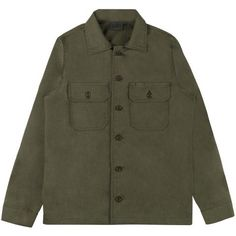 9a59885ed0 Work Shirt - Green Rinsed Oxford