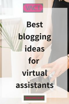 Need blogging ideas for a Virtual Assistant business. As a VA you could be missing out on a potential relationship building opportunity, if you don't have a blog on your website. As a VA, you need to focus on what YOUR clients need. #virtualassistant #blogging Start blogging today. Virtual Assistant Blogging Ideas