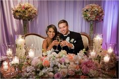 Le Magnifique Blog: Elegant Ballroom Wedding at the Fairmont Luxury Resort in Newport Beach by Lin and Jirsa Photography