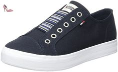 Tommy Hilfiger N1385ice 2d2, Sneakers Basses Femme, Bleu (Midnight 403), 40 EU - Chaussures tommy hilfiger (*Partner-Link)