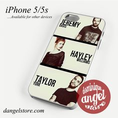 Paramore Crews Phone case for iPhone 4/4s/5/5c/5s/6/6 plus