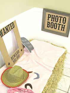 Sheriff Callie Party Photo Booth