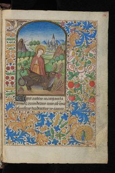 'Margareta' Book of Hours, 3rd quarter 15th cent, Ms. lat. 33, fl. 186r, Bibl. de Genève