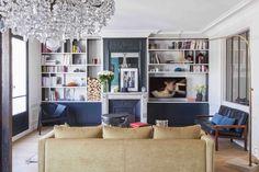 Bleu trendy à Paris - PLANETE DECO a homes world