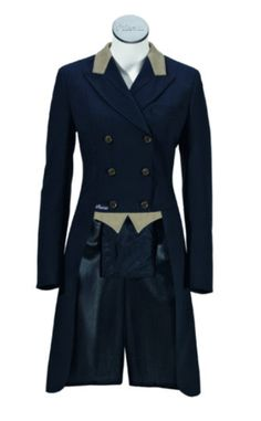Pikeur Ladies Dressage Coats (Shadbelly) with McCrown Collar & Points from Amira Equi Online Shop delivered Worldwide Riding Habit, Riding Gear, Tailored Coat, Frack, Equestrian Style, Equestrian Fashion, Contrast Collar, Leather Collar, Coats For Women