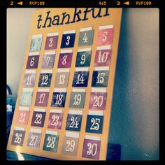 Thanksgiving board - done!!