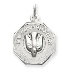 Sterling Silver My Confirmation Disc Charm goldia. $28.75