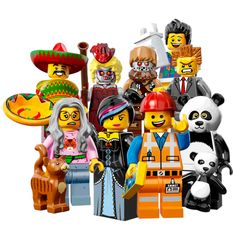 Just arrived!  #LEGO #movie mini figures.  16 new characters to trade and collect!  #fivebelow