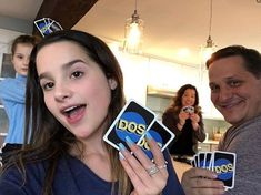 We love DOS! It's the new game from that's double the fun. Can you guess who won this round? Julianna Grace Leblanc, Hayley Leblanc, Annie Grace, Annie Lablanc, Blessed Are We, Annie And Hayden, Bratayley, Maddie Ziegler, Queen