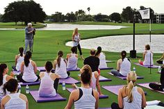 Yoga With a Golfing Twist: Bonaventure Resort & Spa in Weston, Florida, has a new teambuilding offering called Yoga on the Green. Held on its championship golf course, the 90-minute vinyasa yoga class can be modified for different skill levels. After the activity, guests can sip freshly squeezed juices and smoothies and nibble on healthy snacks.