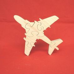 Ea-6b Prowler Turbojet - Childrens Wood Puzzle Game - New Toy - Hand Made…