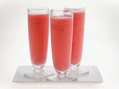 Raspberry-Vanilla Smoothie from FoodNetwork.com
